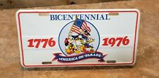 Vintage Disney Bicentennial License Plate - America On Parade (1976) NOS Mickey
