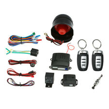 Universal Car Vehicle Security System Burglar Alarm Protection Anti-theft J6O4