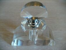 ART  DECO  Style  PERFUME  BOTTLE  Screw  Top  With  Dropper  ( New  / Unused )