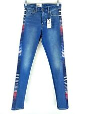 Levis Made and Crafted Womens 721 Med Wash Denim High Rise Skinny Jeans 26x30