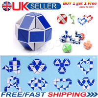 Snake Rubiks Rubix Rubic Magic 3D Cube Game Puzzle Toy Party Travel Family Gift