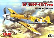 MESSERSCHMITT Bf-109 F-4 Z/TROP (H.J.MARSEILLE JG27 & J.HARDER JG53) 1/48 ICM
