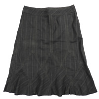 DKNY Dark Blue Denim Below Knee Length 100% Cotton Skirt Women's Size 2