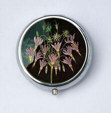 Meadia American Cowslip Flower Pill Case pillbox holder botanical