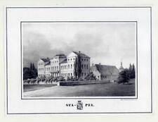 Havixbeck - Haus Stapel - Lithographie n. Witte b. Herle 1837 Sehr selten!