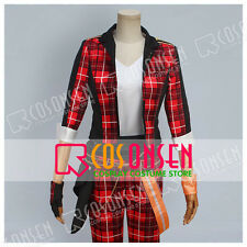 Cosonsen The Ensemble Stars Trickstar Mao Isara Cosplay Costume All Size