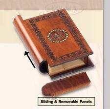 Book Style Wood Puzzle Box Polish Handmade Secret Trick Wooden Box Keepsake