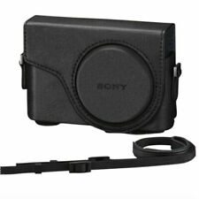 Genuine Sony LCJ-WD Jacket Case Black For Cyber-shot DSC-WX350 & DSC-WX300