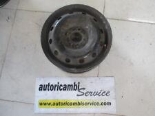 FIAT PUNTO 1.3 D 5P 5M 51KW (2005) RICAMBIO CERCHIO IN FERRO 5.00BX14H ET48