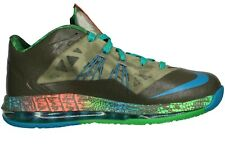 NIKE LEBRON X LOW SWAMP THING REPTILE SZ: 9.0 TRUSTED SELLER NEW RARE DEAD STOCK
