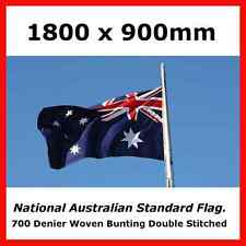 100% AUSTRALIAN MADE HEAVY DUTY FULLY SEWN AUSTRALIAN STANDARD SIZE OUTDOOR FLAG
