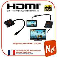 NGI-1080P micro HDMI Male for VGA Female Video Converter Adaptor
