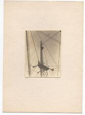 1936 Card Mounted Art Photo of Ships Mask signed Jolly