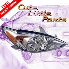Passenger Right Chrome Headlight for 2002 2003 2004 TOYOTA CAMRY LE/ XLE