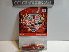 Hot Wheels Fre Rods Red '59 Chevy Bel Air