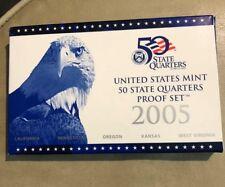 2005 S United States Mint State Quarters Proof Set