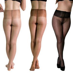Platino Total Comfort 20 Pantyhose | Satin Shine Adjustable Comfort Waistband