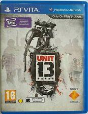 Unit 13 Sony PlayStation PS Vita  Zone 2  ENG.