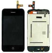 7in1 LCD Display Screen Touch Screen Sensor Lum Home Key for iPhone 3gs Black