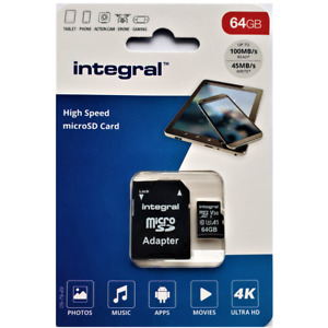 64GB Micro SD Memory Card Class 10 U3 EZVIZ Indoor FHD Cam + PIR, C6TC, C3A Cam