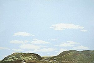 Background Scene - Country to Eastern Foothills - 24x36 in - 60x90cm- HO-949-714