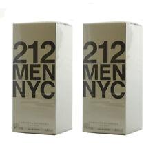 Carolina Herrera 212 Men NYC - EDT Eau de Toilette 100ml - 2x