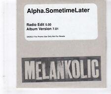(HL156) Alpha, Sometime Later - 1997 DJ CD
