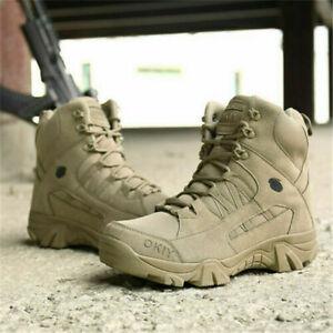 Militärschuhe Soldatenschuhe Wanderschuhe Wasserdichte höhe Stiefel Freien 39-46