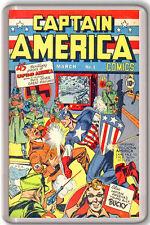 CAPTAIN AMERICA COMICS #1 1941 FRIDGE MAGNET IMAN NEVERA