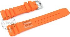 Citizen Seiko Style Men's Silicone Rubber Waterproof Divers Watch Strap Band PRO
