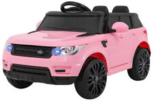 12V Style Range Rover Rose - Voiture Electrique Pour Enfants