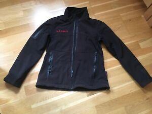 MAMMUT schwarze Damen Softshelljacke - Outdoorjacke - Gr. 36