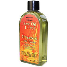 Grapeseed Base Oil Aromatherapy Massage Carrier Oil - 100ml Bottle