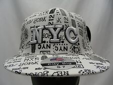NEW YORK - CITY BIG - SMALL SIZE 7 FITTED BALL CAP HAT!
