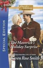THE MAVERICK'S HOLIDAY SURPRISE - SMITH, KAREN ROSE - NEW PAPERBACK BOOK