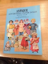 Antique Advertising Paper Dolls Uncut in Full Color by Barbara Whitton Jendrick