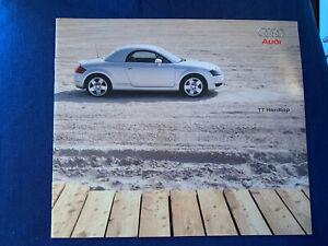 Audi TT hardtop brochure  original excellent