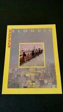 """Blondie """"Autoamerican"""" (1981) Rare Original Print Promo Poster Ad"""