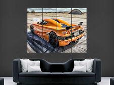 KOENIGSEGG CCXR CAR SPORT RACING FAST WALL POSTER ART PICTURE PRINT LARGE