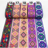 7Yards Floral Jacquard Trim Braid Embroidered Ribbon Craft Sewing Boho Ethnic