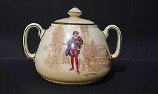 Rare Antique Royal Doulton Romeo Sugar Bowl - D3748