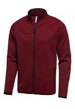 Joy Sportswear Herren Freizeitjacke Trainingsjacke Kristian rot Homewear