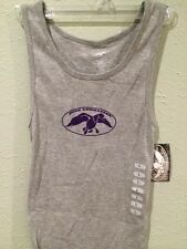 DUCK COMMANDER Logo Ribbed Tank Top Shirt - Duck Dynasty - Grey - Large - NEW