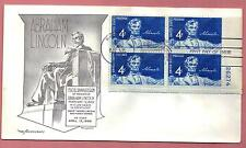 1116 Lincoln Memorial  Plate # Block Aristocrat Cachet UNaddressed  ( Lot 577)