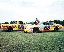 1997 Bobby Dotter Lub-Tek Chevy Monte Carlo Silverado NASCAR postcard