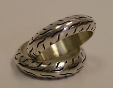 Sterling Silver Tire Ring