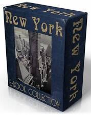 NEW York City 28 seltenes, historische, Vintage Bücher auf CD! Manhattan Big Apple