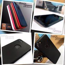 Original Apple iPhone 7 case genuine Tech tpu flex silicone cuir anti-chocs noir