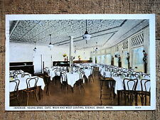 Young Bros Cafe interior Onset Ma 1929