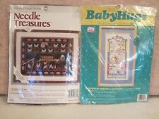 Two Nice Counted Cross Stitch Kits